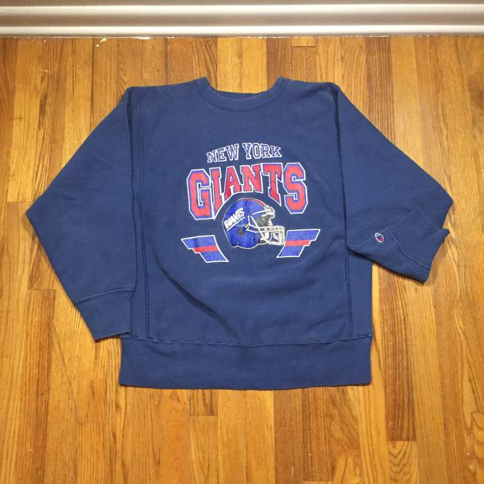Champion. Vintage 90s New York Giant Reverse Weave Crewneck Sweatshirt a5bfce7db