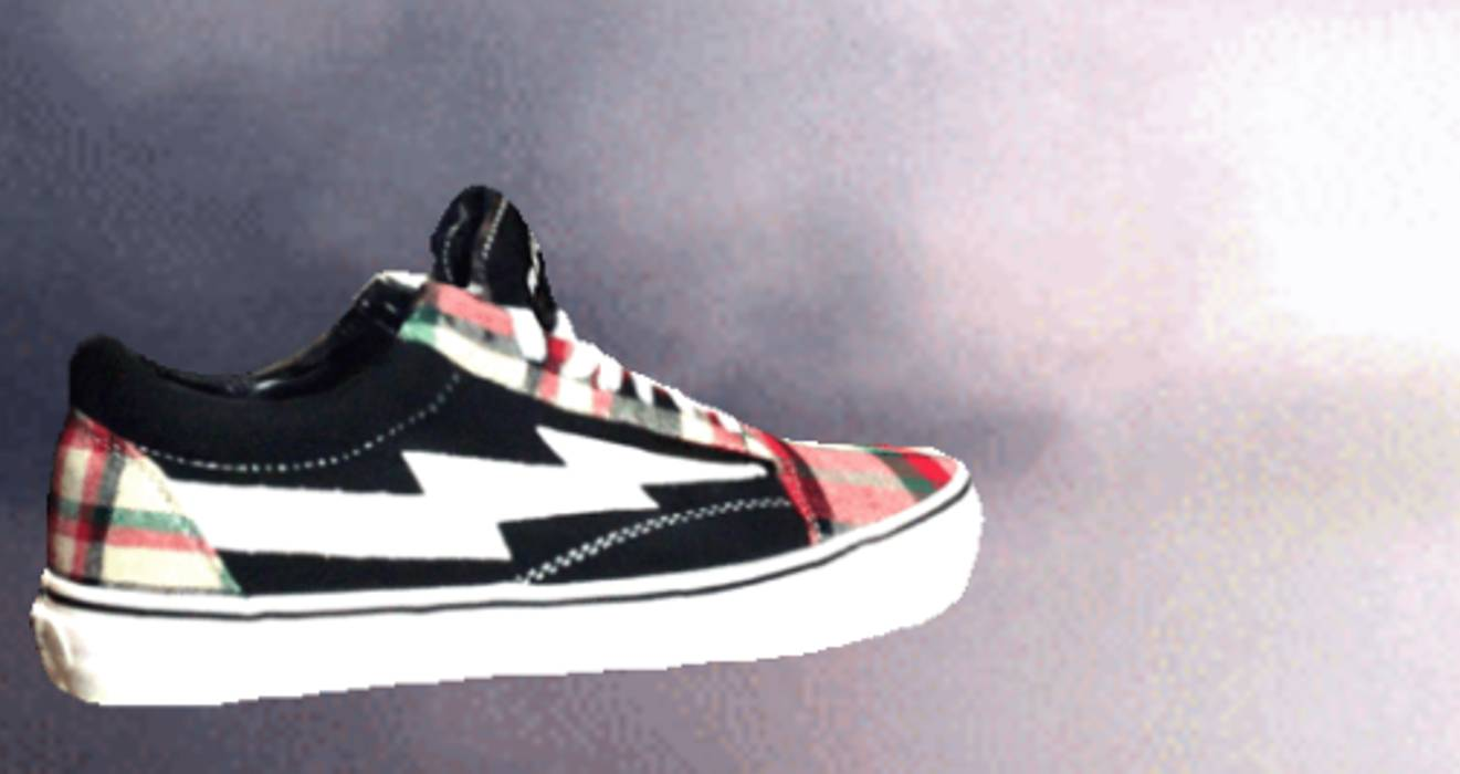 Ian Connor Revenge x Storm Plaid Black Shoe Size 9 - Low-Top ... ed6b51179