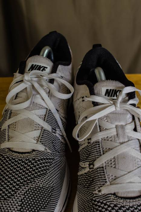 cbd37f023827 ... Nike Nike Flyknit Trainer White (PADDED) Size US 10 EU 43 ...