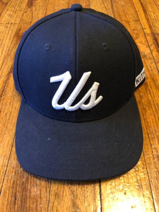 """Kith Nyc Just """"US"""" Navy Blue SnapBack Size one size - Hats for Sale ... 0755570299e5"""