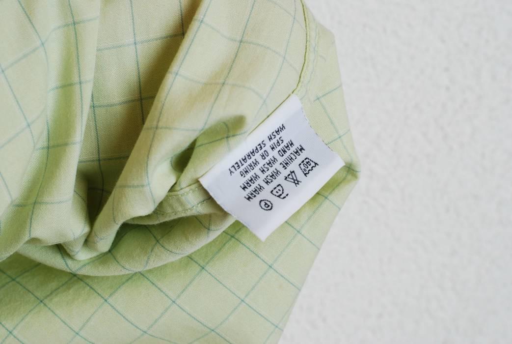 0cde06184ef1 Burberry Thomas Burberry L   XL Short Sleeve Casual Shirt pistachio Cotton  Summer  467 Size