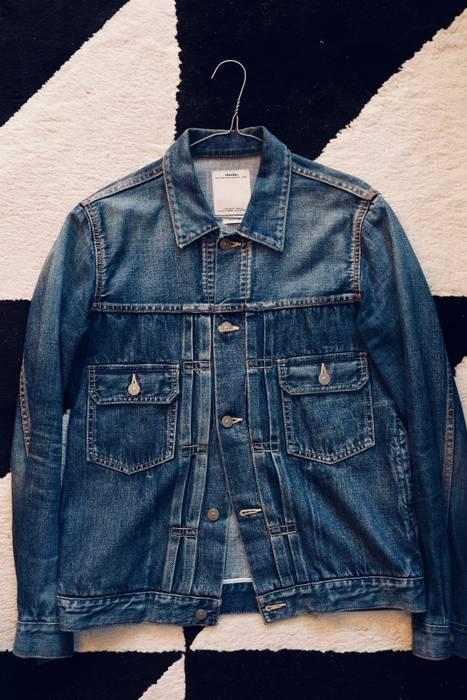 b00969a1862 Visvim SS 101 Jacket Damaged Size m - Denim Jackets for Sale - Grailed
