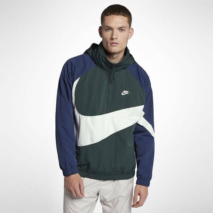 579ba33cb3 Nike.     FINAL PRICE     Sportswear Big Swoosh Half Zip Anorak ...