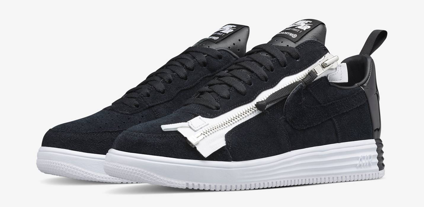 newest collection 3eea9 f9617 Nike Lunar Force 1 SP Zip (Black) Size US 9.5  EU 42-