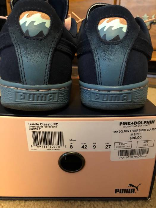 5e434a340923 Pink Dolphin Puma x Pink Dolphin Collab Size 9 - Low-Top Sneakers ...