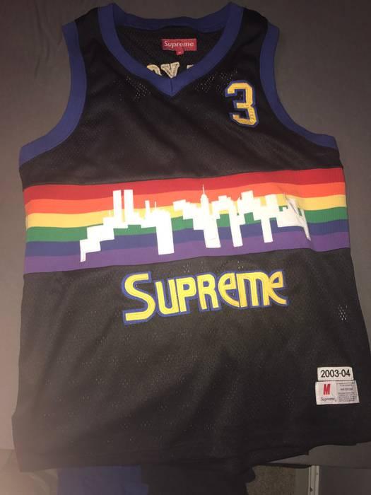 bc7bb7822 Supreme Supreme Retro Denver Nuggets Jersey Size US L   EU 52-54   3