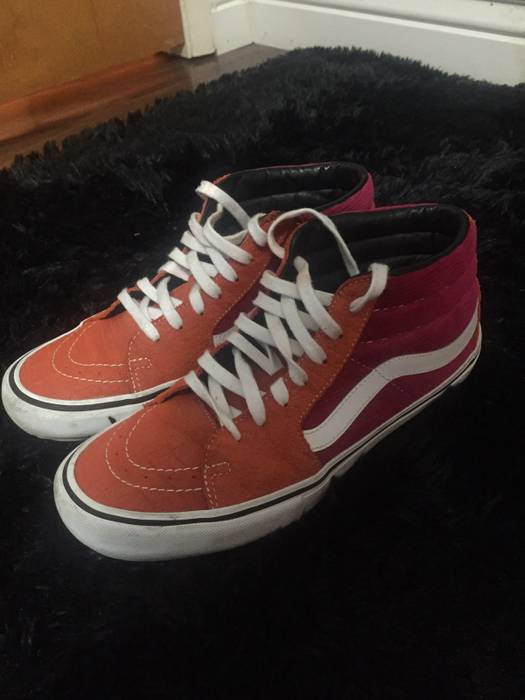 Supreme Supreme x Vans Sk8-Mid Pro Size 9 - Low-Top Sneakers for ... 2969aa513f39