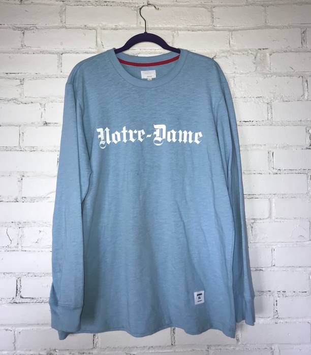 Supreme Supreme Notre Dame Long Sleeve Size Xl Long Sleeve T