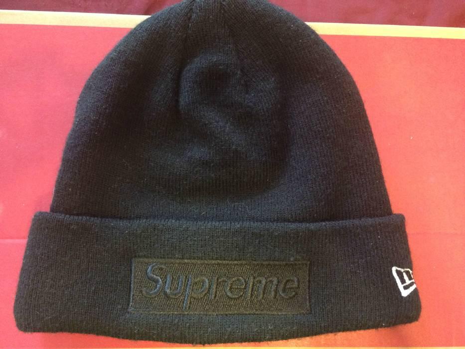 Supreme Tonal Box Logo Beanie Black Size one size - Hats for Sale ... a09d15e5dd5