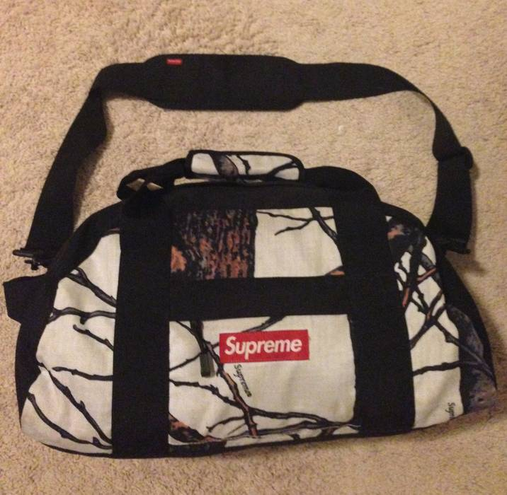 Supreme Real Tree Camo Duffle Bag F W12 Size 32