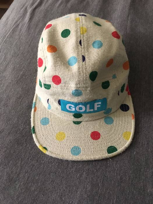 ef74b38e164 Golf Wang FW15 Dot Camp hat Size one size - Hats for Sale - Grailed