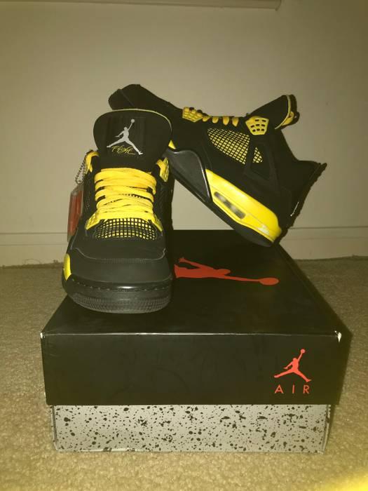 96213964435e Nike Air Jordan Retro 4 THUNDER Size 10.5 - Hi-Top Sneakers for Sale ...