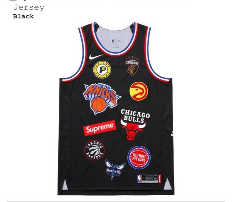 069586d8e57 Supreme Supreme x Nike x NBA Jersey Size m - Jerseys for Sale - Grailed
