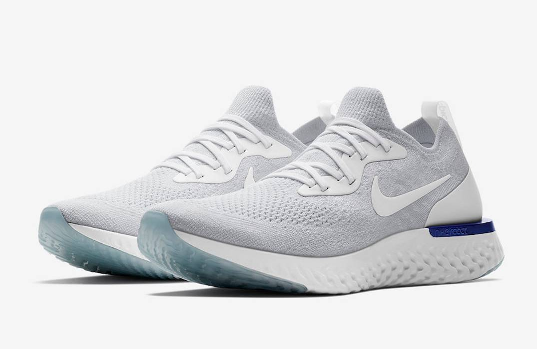 "bedead09307cb Nike NIKE EPIC REACT FLYKNIT ""WHITE FUSION"" Size 10 - Low-Top ..."