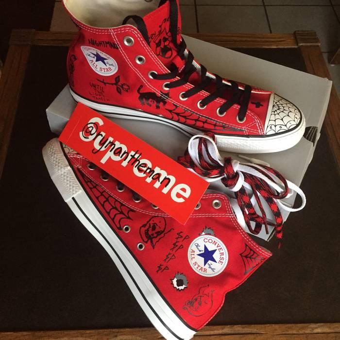 f8e01aaaf754 Converse Converse Sean Pablo CTAS Pro Enamel Red Size 10.5 - Hi-Top ...