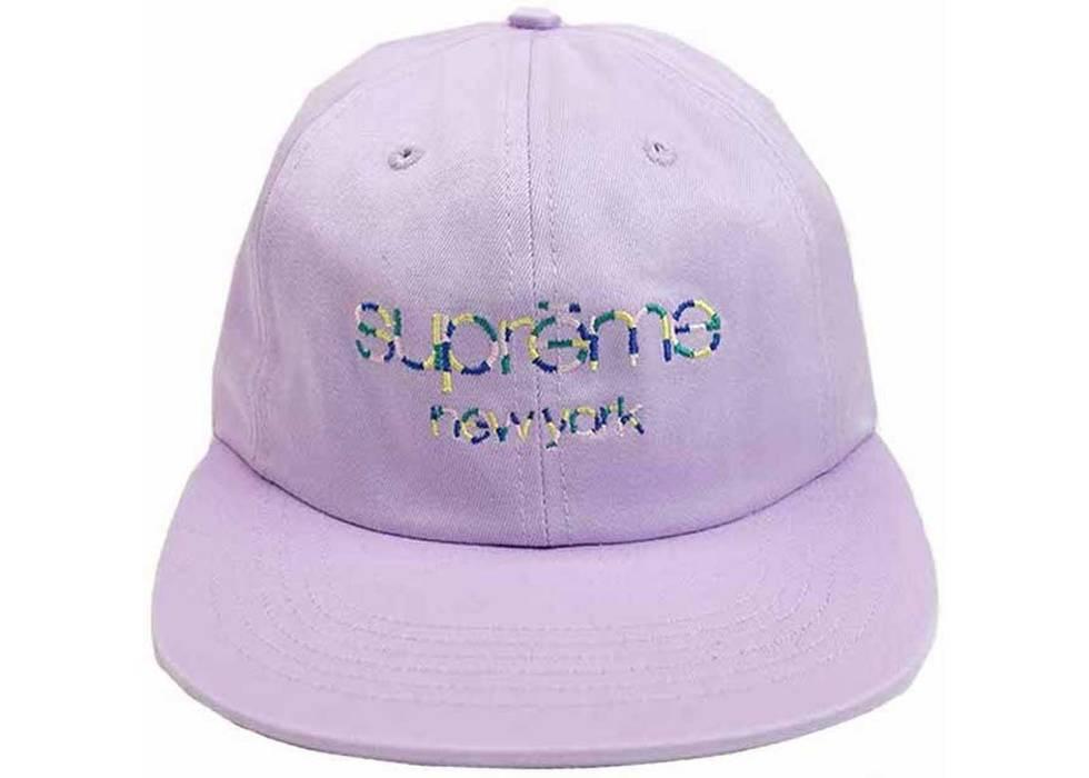 1b1d8a0d9cc Supreme Multicolor Twill Classic Logo 6-panel Cap Size one size ...