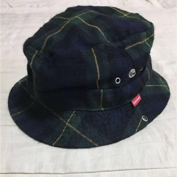 3a8752a8da2 Supreme Supreme 90s bucket hat tartan plaid cap vintage Size one ...