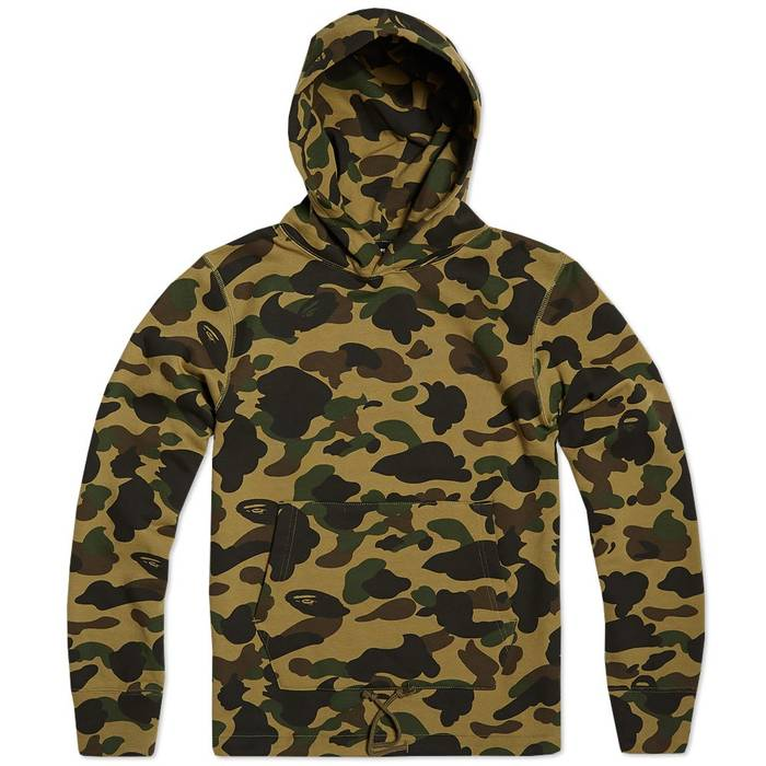 718c1eca57aa Bape Mr. Bathing Ape 1st Camo Hoodie Size m - Sweatshirts   Hoodies ...