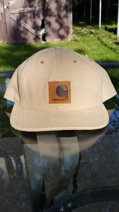 Carhartt Vintage Carhartt Snapback Tan MADE IN USA Size one size ... 45e93d2ef78