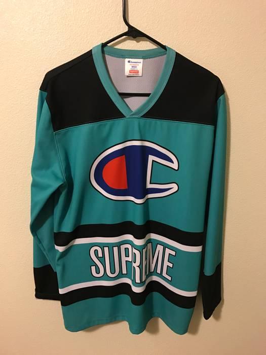 Supreme Supreme x Champion hockey jersey Size m - Jerseys for Sale ... 9b92927ac