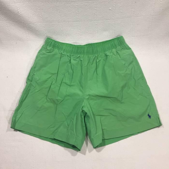 2684dd6aa38 ... authentic polo ralph lauren vintage polo sport lime green swim trunks  size us 30 eu 46