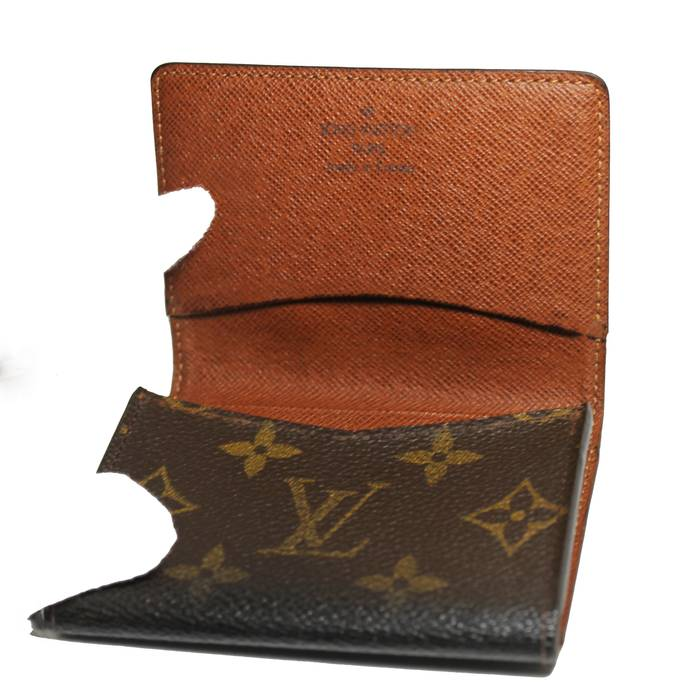 Louis Vuitton Business Card Holder Monogram Size One Size