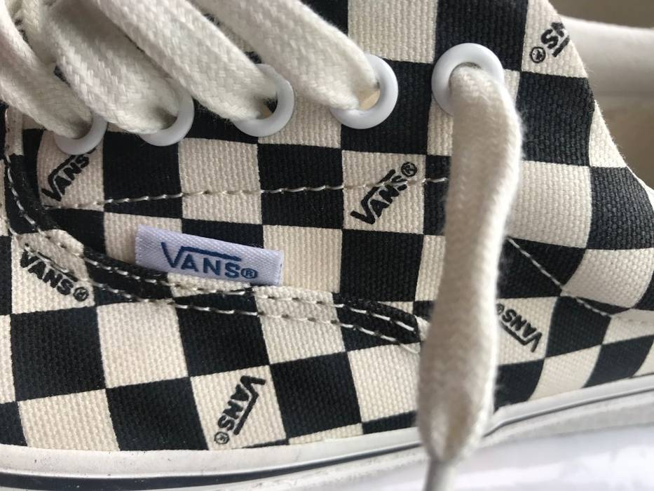 483e6a0490 Vans VANS Vault OG Era LX Checkerboard Black Size 11 Size US 11   EU 44