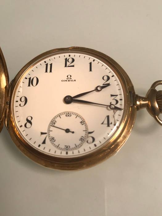 Omega Antique Gold Omega Pocket Watch Size one size - Jewelry ... 6c6f68eee6
