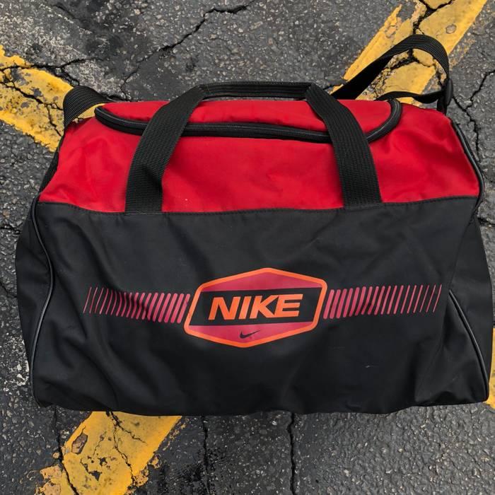 25857f0927cb Nike Vintage 90 s Nike swoosh logo duffel   gym bag Size one size ...