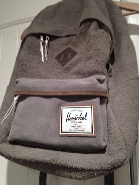 6ae16ae9d555 Herschel Supply Co. Deerfield Suede Backpack Size one size - Bags ...