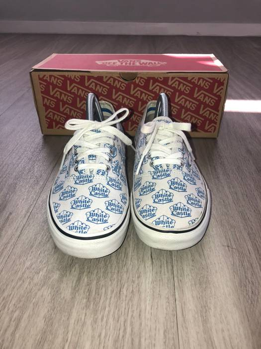 9ca28a22623 Supreme Supreme White Castle Vans Size 9.5 - Low-Top Sneakers for ...