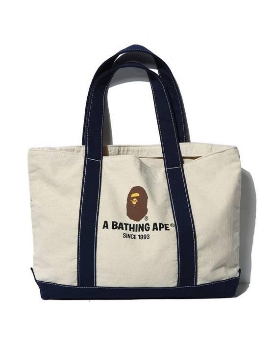 b1fa9bee4ec7 Bape A BATHING APE Bape Canvas Tote bag shoulder bag shopping bag Size ONE  SIZE
