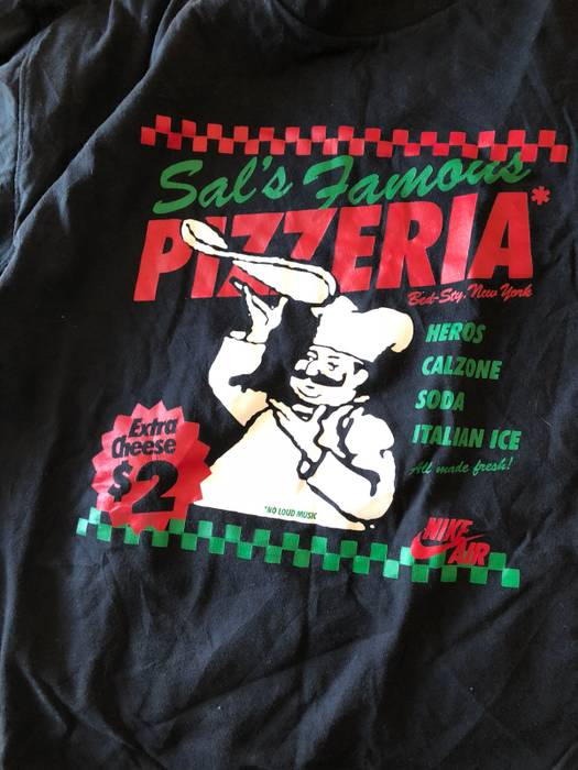 3f989ce2 Nike Nike Do The Right Thing Sals Pizzeria 20th Anniversary Tee Size US M /  EU
