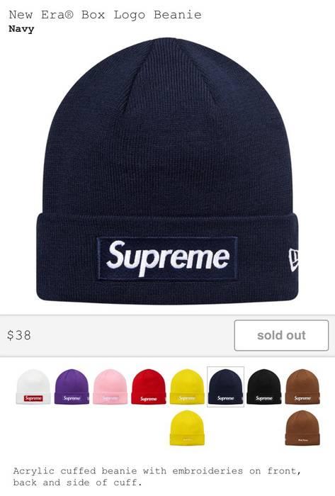 Supreme New Era Bogo Beanie Size one size - Hats for Sale - Grailed c3133cb306f