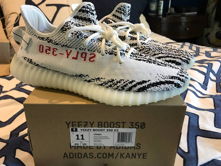 a436135626972 Adidas Kanye West Zebra Yeezy Boost Size 11 - Low-Top Sneakers for ...