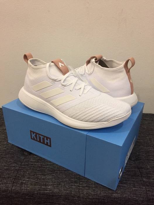 sports shoes 3c089 dfcf7 Adidas KITH FLAMINGO ACE 17.1 + TR Hybrid White Size US 12  EU 45