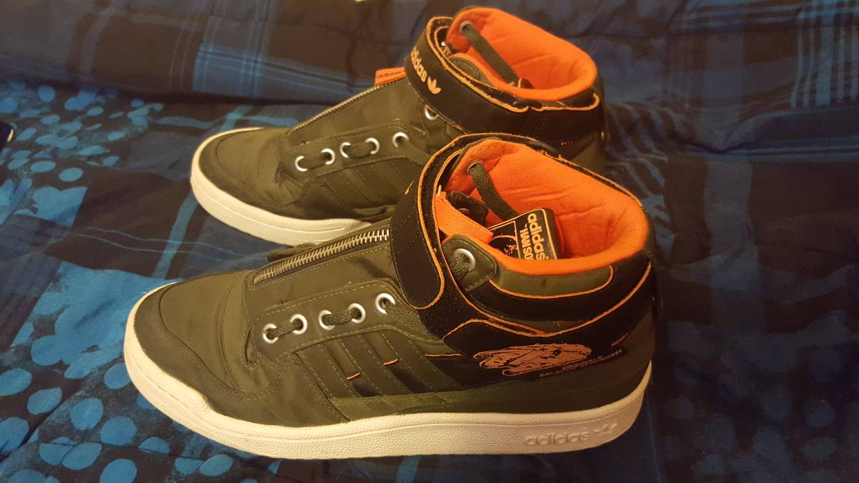 release date: eb793 6a6bc Adidas Han Solo Forum Mid Size US 9  EU 42