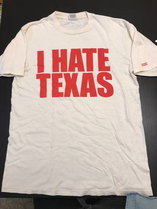 Supreme I Hate Texas Shirt Size m - Short Sleeve T-Shirts for Sale ... c81c7226c