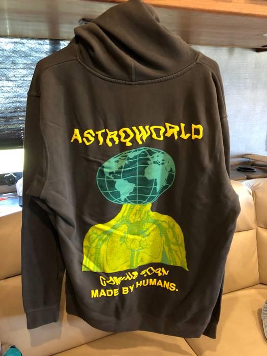 1c9eb424d0b Travis Scott Travis Scott Cactus Jack Astroworld Hoodie Size US M   EU 48-50