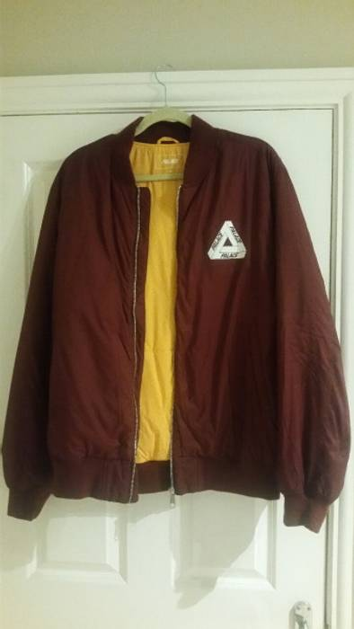 07dfedea7454 Palace Cordovan Thinsulate Bomber Jacket Size xl - Bombers for Sale ...