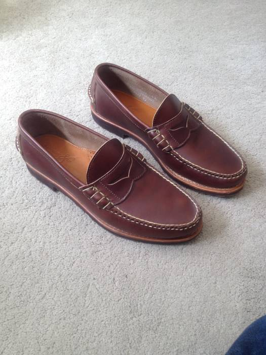 31f3863803888a Rancourt   Co. Beefroll Penny Loafers Size 9.5 - Formal Shoes for ...