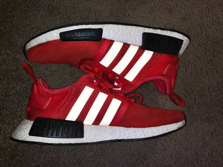 "9ef522a62 Adidas Nmd R1 ""Clear Red"" Size 8.5 - Low-Top Sneakers for Sale - Grailed"