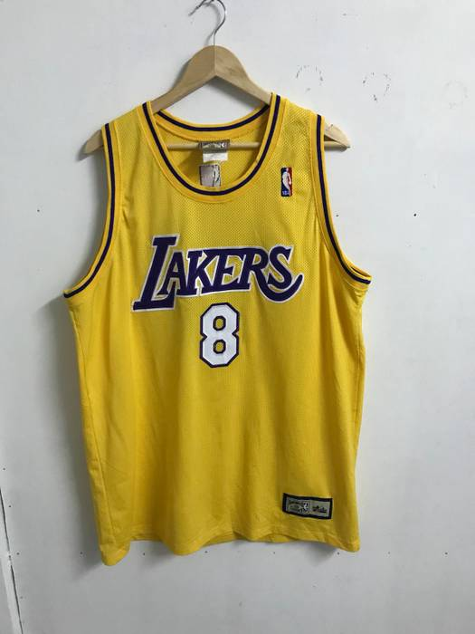 4b5027998 Majestic. AUTHENTIC NBA LOS ANGELES LAKERS HARDWOOD CLASSIC BY MAJESTIC NO  8 KOBE BRYANT ...