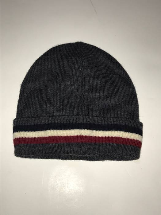 Moncler Moncler knit Beanie Skully Hat Charcoal Size one size - Hats ... 7b06caa19b5f