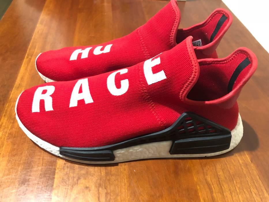 691a52160a68b Adidas Adidas X Pharrell Williams Human Race Scarlet NMD Size US 12   EU 45  -