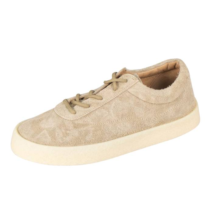 0b2ecea0ac2e Yeezy Season 6 Taupe Thick Shaggy Suede Crepe Sneakers Shoes Size US 12    EU 45
