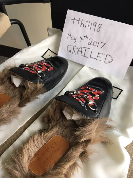 69f37c1042c Gucci Gucci Snake Slippers Size 8 - Slip Ons for Sale - Grailed