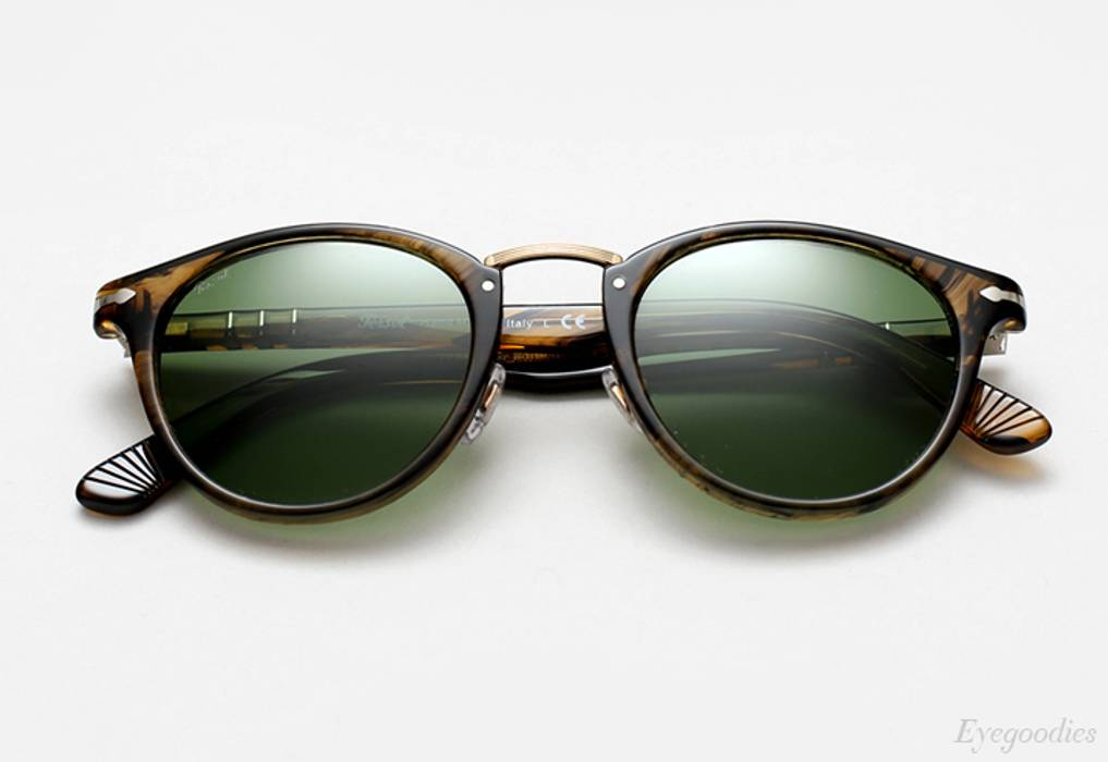 585c118655407 Persol NEW Persol Typewriter Edition Brown Sunglasses Size one size ...