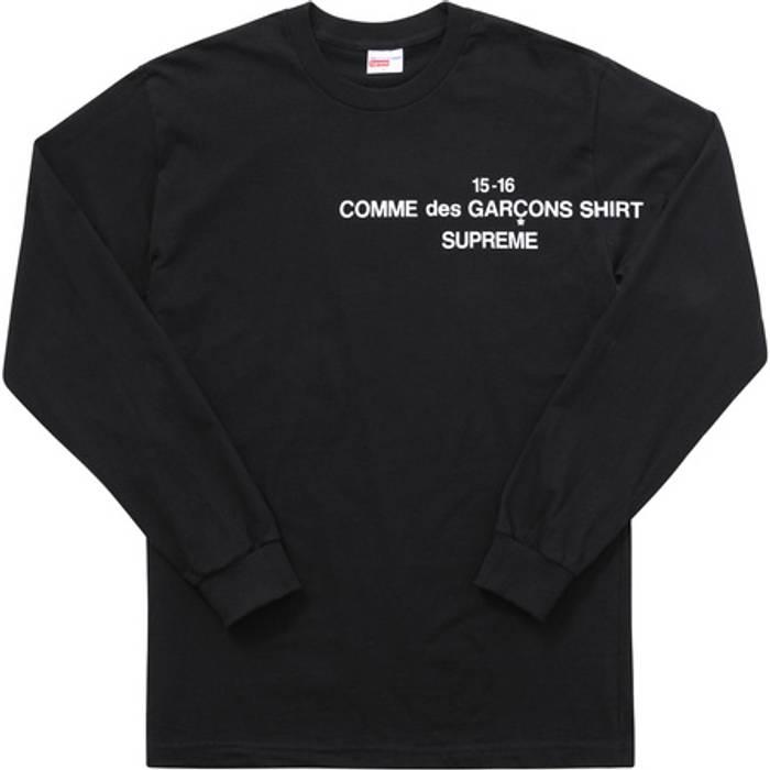 Supreme Supreme x CDG Long-sleeve T-Shirt Size xl - Long Sleeve T ... 4174f5d22e56