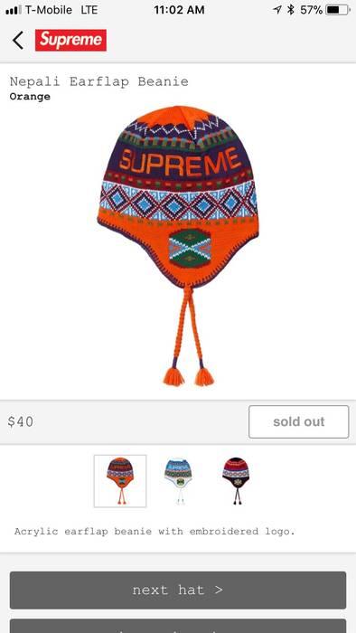 9cbac8f7c58 Supreme Supreme Nepali Earflap Hat Size one size - Hats for Sale ...
